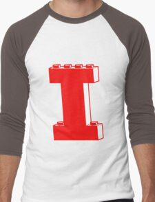 THE LETTER I, Customize My Minifig Men's Baseball ¾ T-Shirt