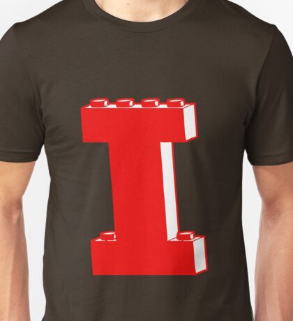 THE LETTER I, Customize My Minifig Unisex T-Shirt