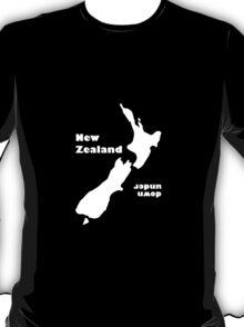New Zealand 'down under' Dark T T-Shirt
