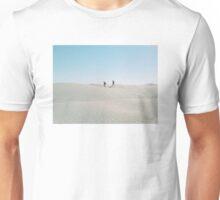 Walking alone in the Sahara desert Unisex T-Shirt