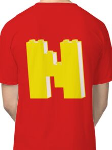THE LETTER N, Customize My Minifig Classic T-Shirt