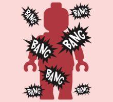 Minifig BANG BANG BANG, Customize My Minifig Kids Clothes