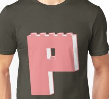 THE LETTER P, Customize My Minifig Unisex T-Shirt