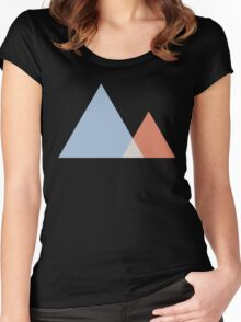 Triangles Women's Fitted Scoop T-Shirt