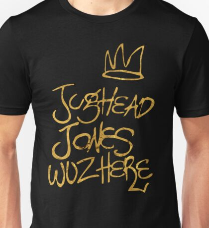 Riverdale - Jughead Jones Wuz Here (Gold version) - Archie Comics Unisex T-Shirt