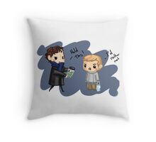 For Science John Throw Pillow