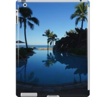 Pool by the Sea- Oahu, Hawaii iPad Case/Skin