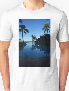 Pool by the Sea- Oahu, Hawaii Unisex T-Shirt