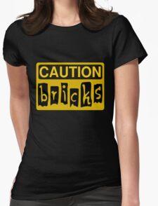 Caution Bricks Sign T-Shirt