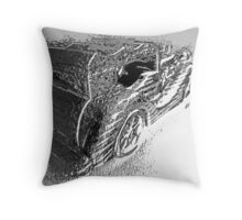 Drive by Throw Pillow