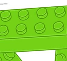 Green Bricks, Customize My Minifig Sticker
