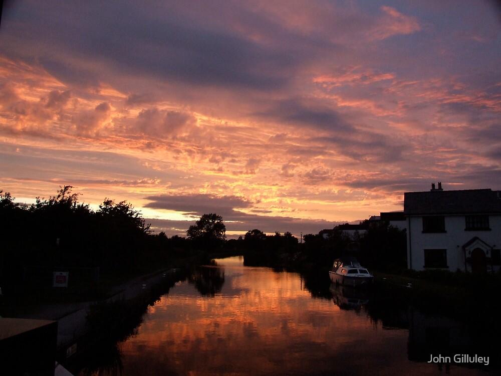 Dusk Canal... by John Gilluley