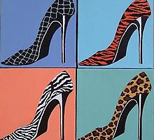 A Walk on the WIld Side inspired by Andy Warhol by Anni Morris