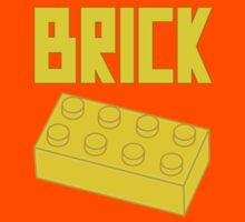 Yellow Brick, Customize My Minifig Kids Tee