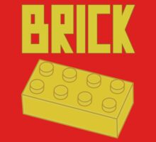 Yellow Brick, Customize My Minifig Baby Tee