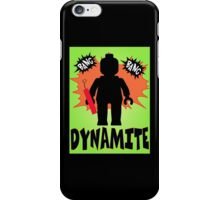 Dynamite Minifigure, Customize My Minifig iPhone Case/Skin