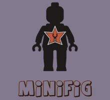 Minifig [Black], Customize My Minifig Star Logo Kids Tee