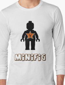 Minifig [Black], Customize My Minifig Star Logo Long Sleeve T-Shirt