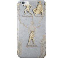 """Grappling and Dagger Positions - Fiore dei Liberi """"Getty"""" iPhone Case/Skin"""