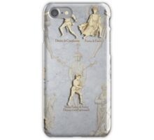 "Grappling and Dagger Positions - Fiore dei Liberi ""Getty"" iPhone Case/Skin"