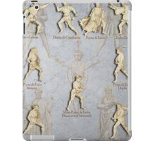 """Grappling and Dagger Positions - Fiore dei Liberi """"Getty"""" iPad Case/Skin"""