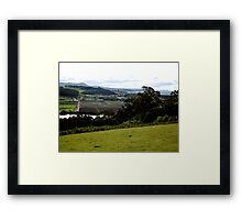 Central Coast Framed Print
