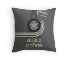 World of Motion Throw Pillow