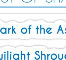 Champion Akali Skill Set In Blue Sticker