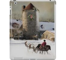 One horse Open Sleigh iPad Case/Skin