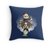 The Marvelous Mind of Miyamoto Throw Pillow