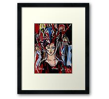 1 in 4 Women in the Workplace in Victoria are Bullied! Framed Print