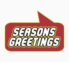 Seasons Greetings, Bubble-Tees.com One Piece - Long Sleeve