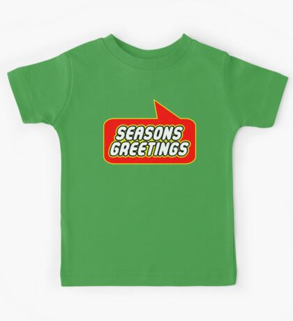 Seasons Greetings, Bubble-Tees.com Kids Tee