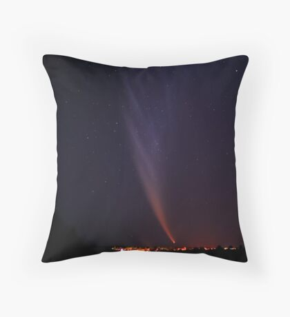 McNaught comet Throw Pillow