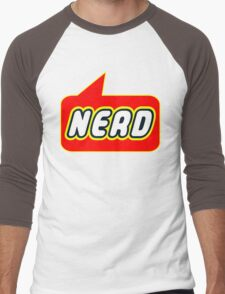 Nerd, Bubble-Tees.com Men's Baseball ¾ T-Shirt