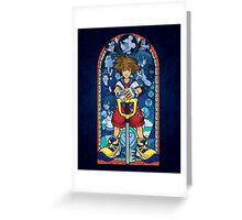 Light in the Deepest Darkness Greeting Card