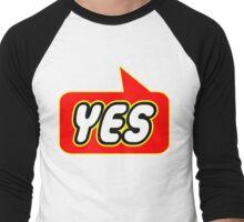 Yes, Bubble-Tees.com Men's Baseball ¾ T-Shirt