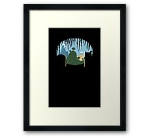 A View of Ooo Framed Print