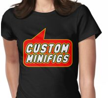 Custom Minifigs, Bubble-Tees.com Womens Fitted T-Shirt