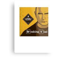 "Vladimir Putin - ""Breaking Vlad"" Metal Print"