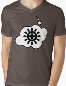 Cog Wheel, Bubble-Tees.com Mens V-Neck T-Shirt