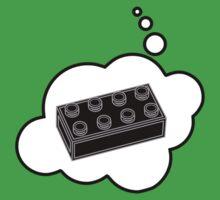 Black Brick, Bubble-Tees.com One Piece - Short Sleeve