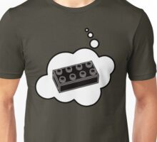 Black Brick, Bubble-Tees.com Unisex T-Shirt