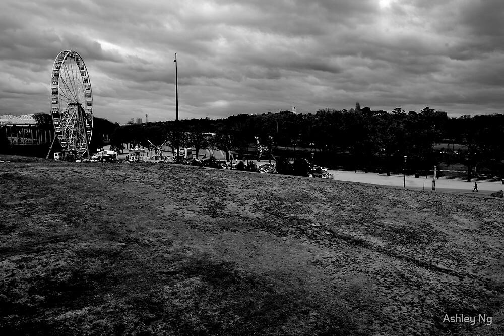 Walking to the fair by Ashley Ng