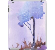 The lonely Blue gum iPad Case/Skin