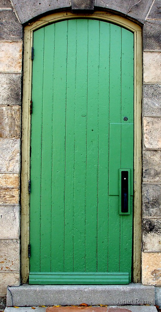 The Green Door by Janet Rymal