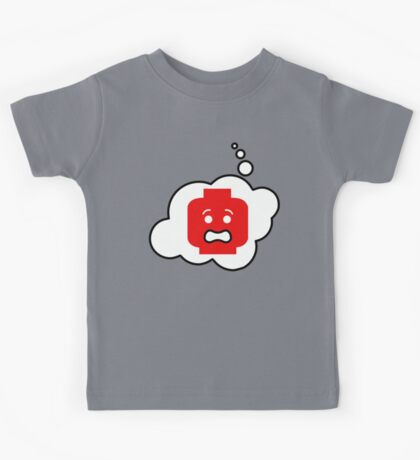 Scared Minifig, Bubble-Tees.com Kids Tee