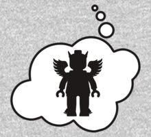 Minifig Greek God, Bubble-Tees.com One Piece - Short Sleeve