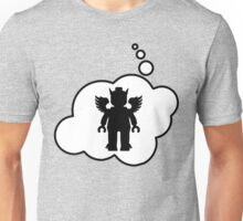 Minifig Greek God, Bubble-Tees.com Unisex T-Shirt