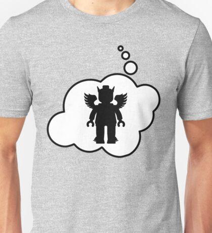 Minifig Greek God, Bubble-Tees.com Unisex T-Shirt